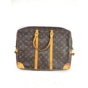 Louis Vuitton Monogram Porte Document Briefcase